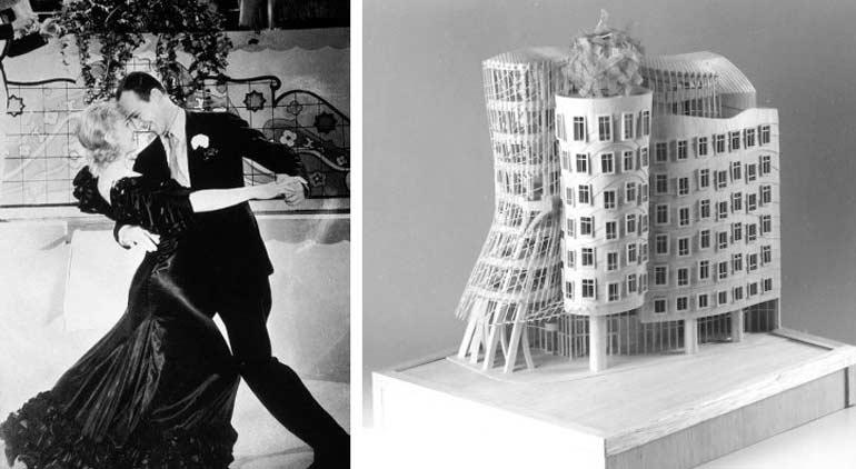 Dans Eden Ev aslında, Prag'da yer alan bir ofis binasıdır. Binanın diğer adı fred ve ginger'dir. Orjinal adı ise 'Dancing House'dur. Bina 1997 yılında Vlada Milunic ve Frank Gehry tarafından beraber inşa edilmiştir.